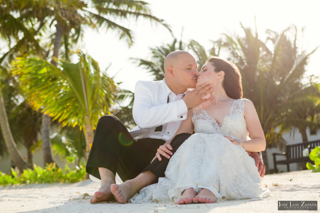 Craig & Melissa - Las Terrazas San Pedro Belize Next Day Wedding Photos