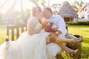 Nathan & Jennifer - Victoria House Belize Wedding Elopement
