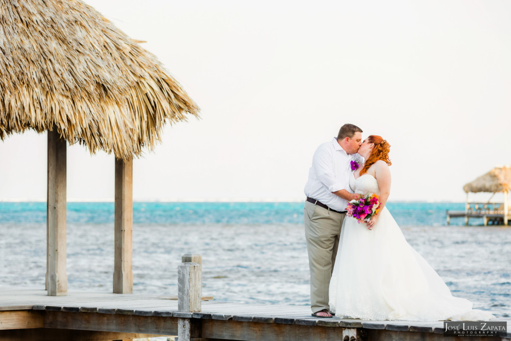 Nathan & Jennifer - Victoria House Belize Wedding Elopement