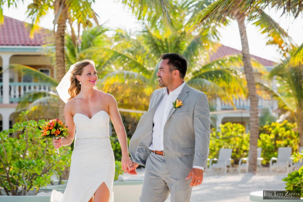Coco Beach Belize Resort - Intimate Beach Wedding (24)