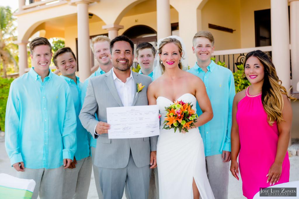 Coco Beach Belize Resort - Intimate Beach Wedding (35)