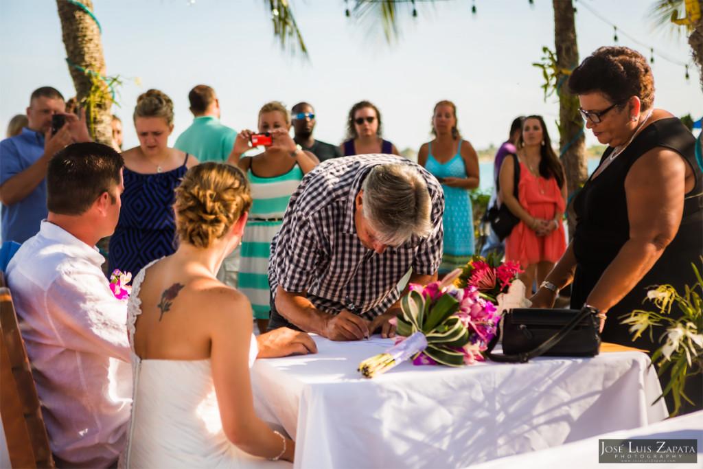 Placencia Belize Wedding