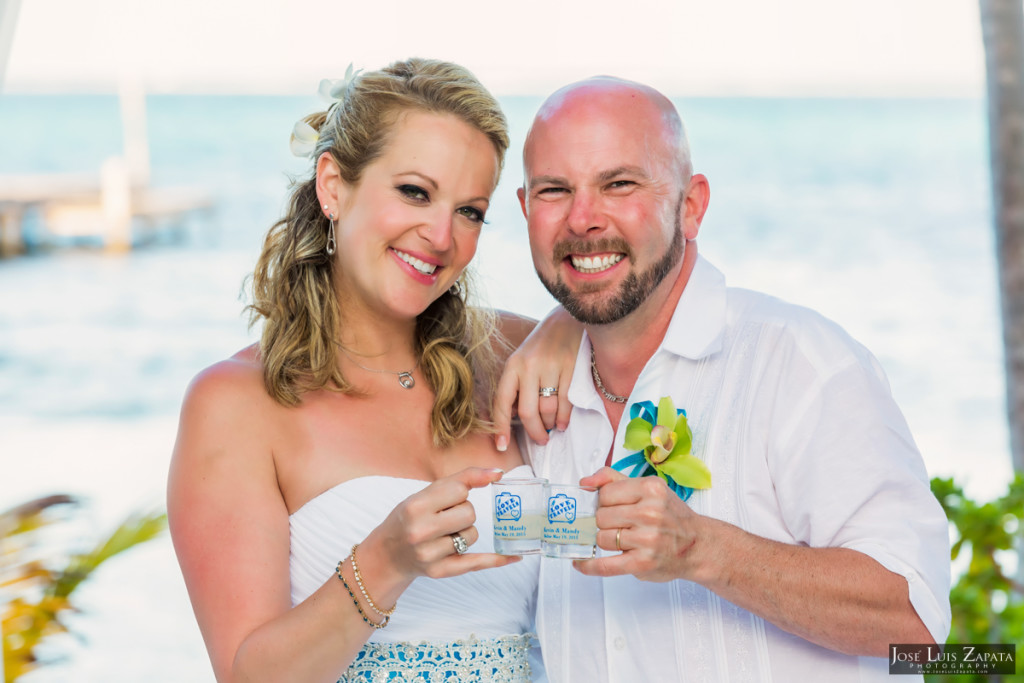 Kevin & Mandy - Blue Dolphin Vacation House Wedding - Ambergris Caye, Belize (43)