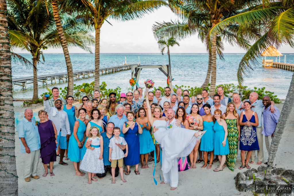 Kevin & Mandy - Blue Dolphin Vacation House Wedding - Ambergris Caye, Belize (41)