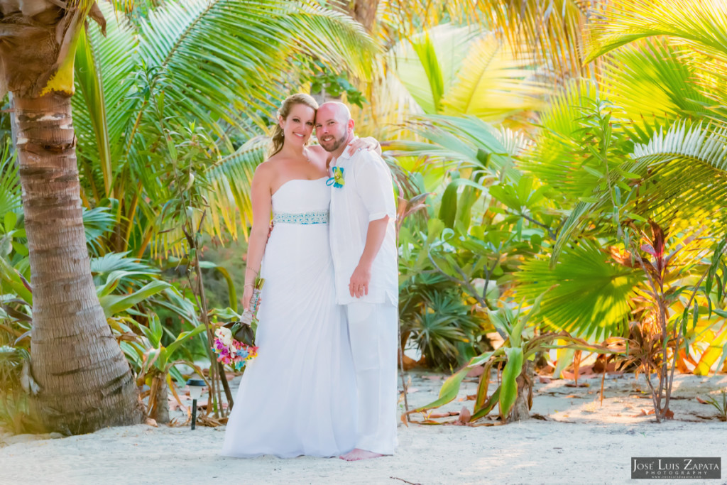 Kevin & Mandy - Blue Dolphin Vacation House Wedding - Ambergris Caye, Belize (40)