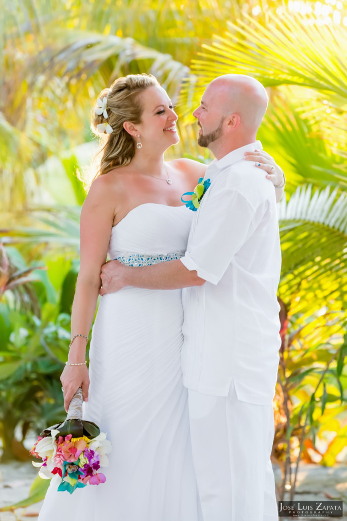 Kevin & Mandy - Blue Dolphin Vacation House Wedding - Ambergris Caye, Belize (39)