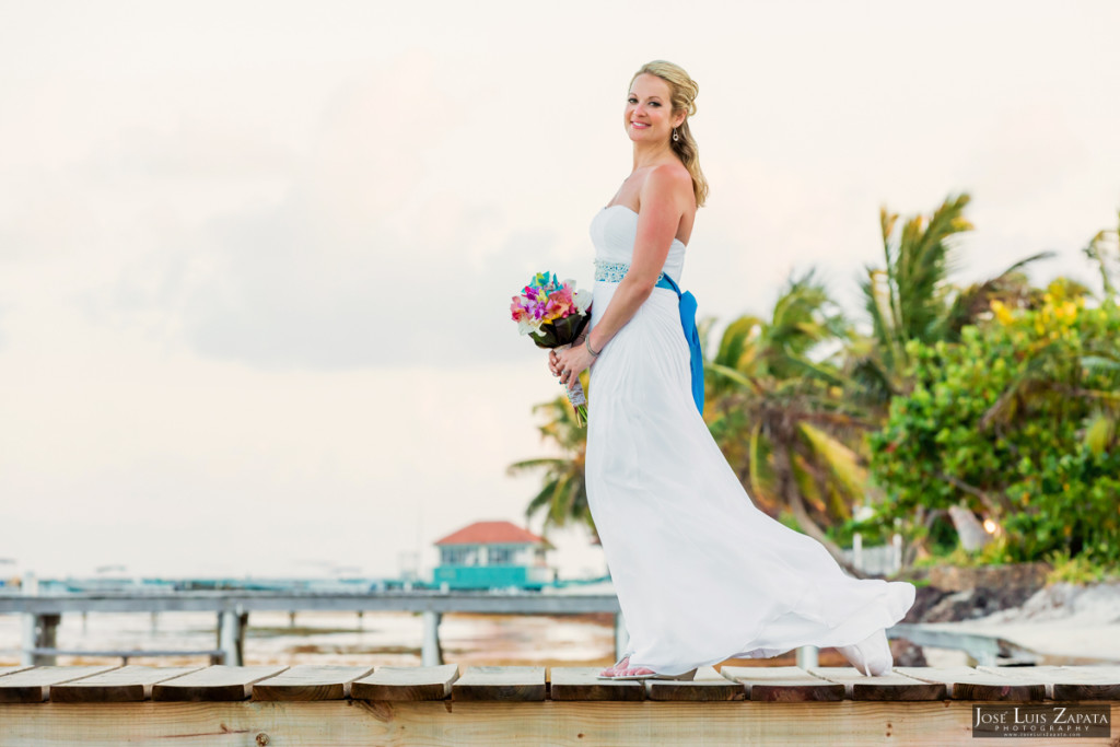 Kevin & Mandy - Blue Dolphin Vacation House Wedding - Ambergris Caye, Belize (37)