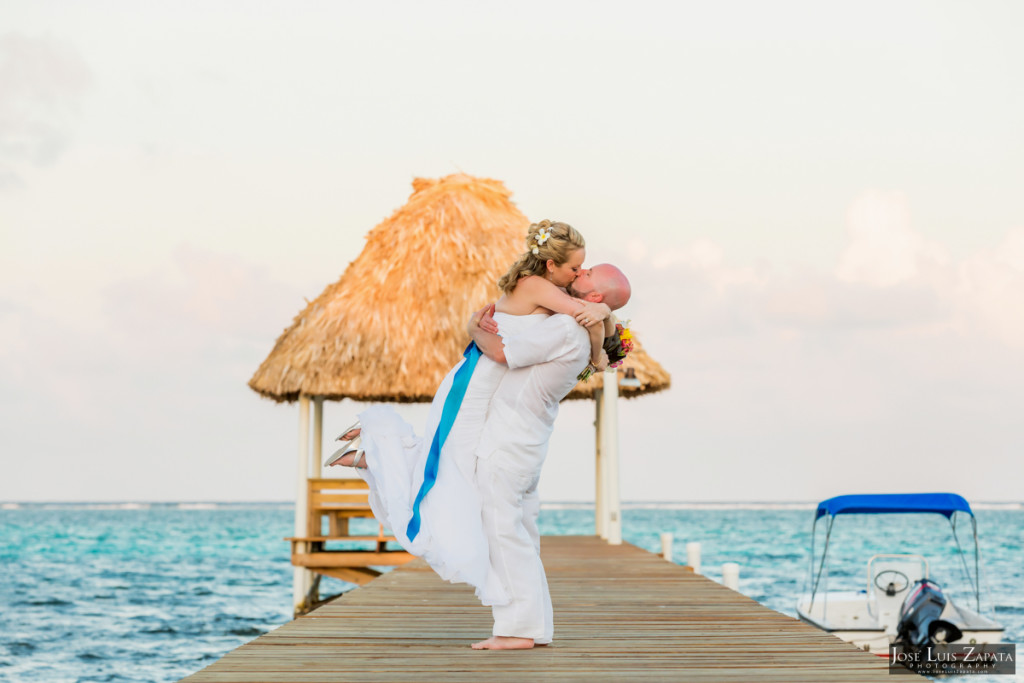 Kevin & Mandy - Blue Dolphin Vacation House Wedding - Ambergris Caye, Belize (34)