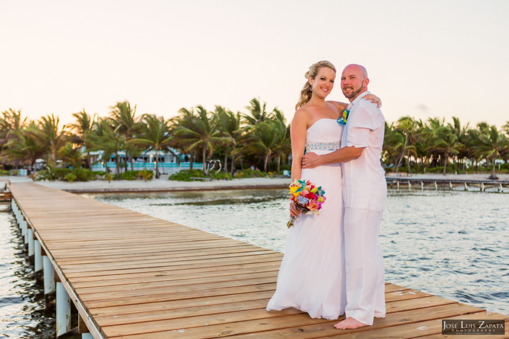 Kevin & Mandy - Blue Dolphin Vacation House Wedding - Ambergris Caye, Belize (31)