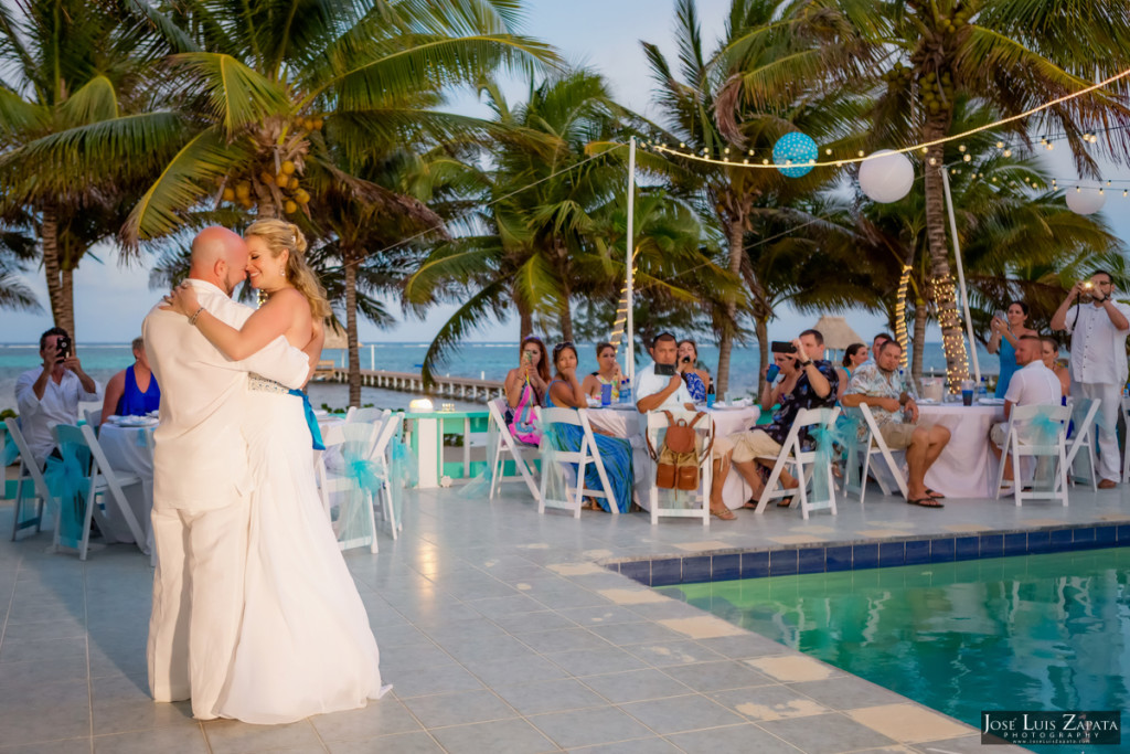 Kevin & Mandy - Blue Dolphin Vacation House Wedding - Ambergris Caye, Belize (30)