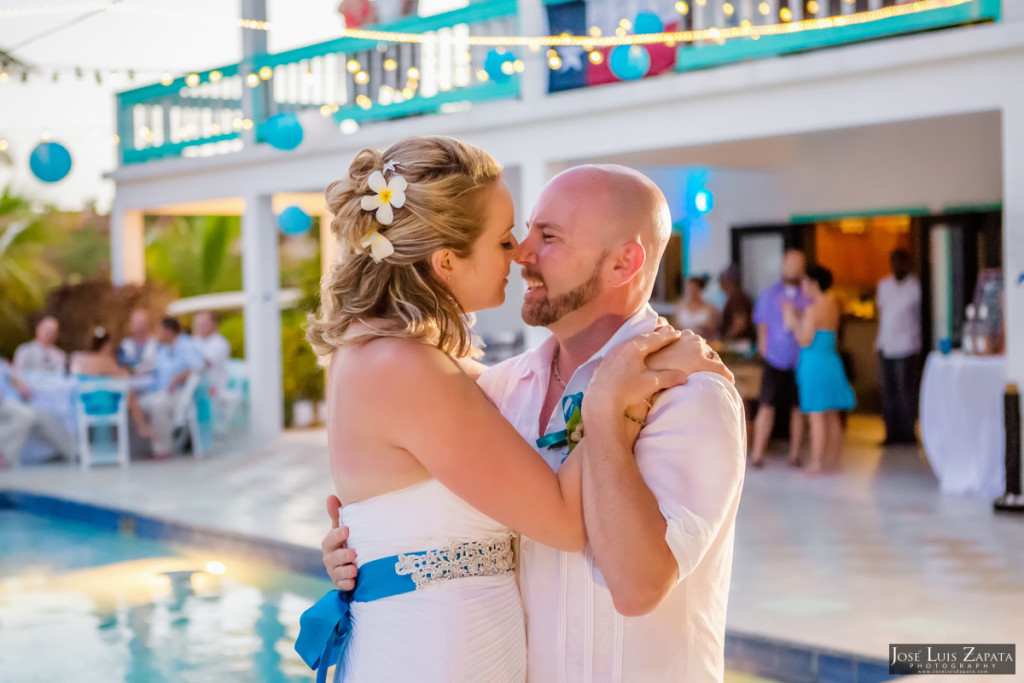 Kevin & Mandy - Blue Dolphin Vacation House Wedding - Ambergris Caye, Belize (29)