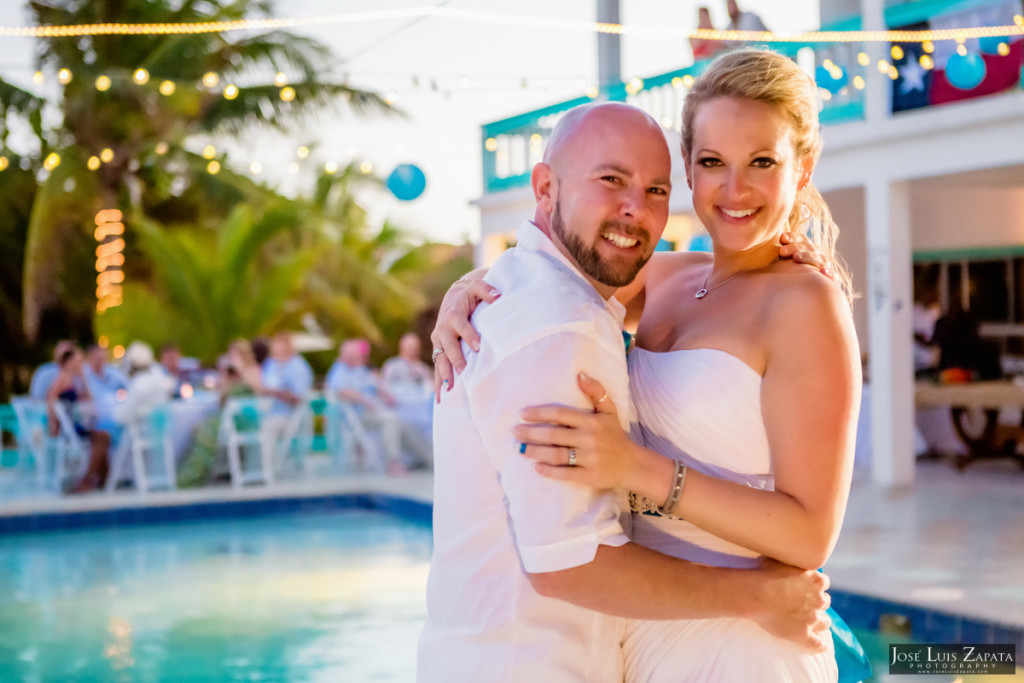 Kevin & Mandy - Blue Dolphin Vacation House Wedding - Ambergris Caye, Belize (28)