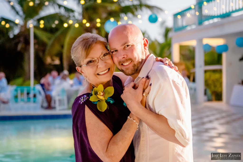 Kevin & Mandy - Blue Dolphin Vacation House Wedding - Ambergris Caye, Belize (26)