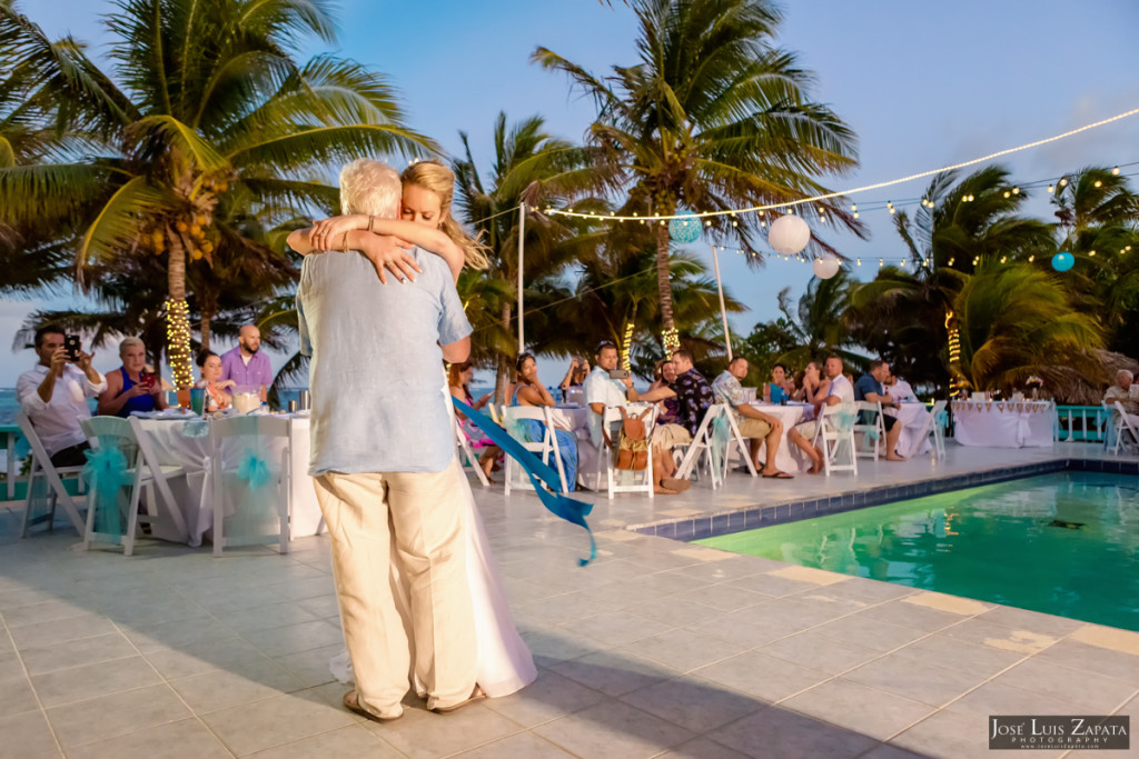 Kevin & Mandy - Blue Dolphin Vacation House Wedding - Ambergris Caye, Belize (25)