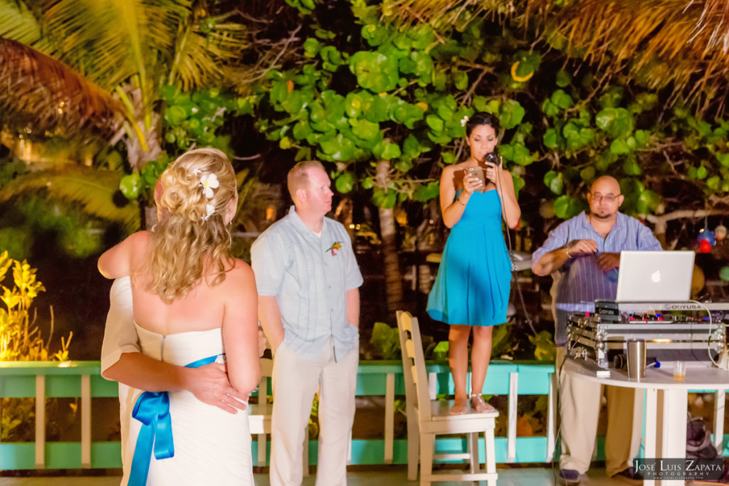 Kevin & Mandy - Blue Dolphin Vacation House Wedding - Ambergris Caye, Belize (20)