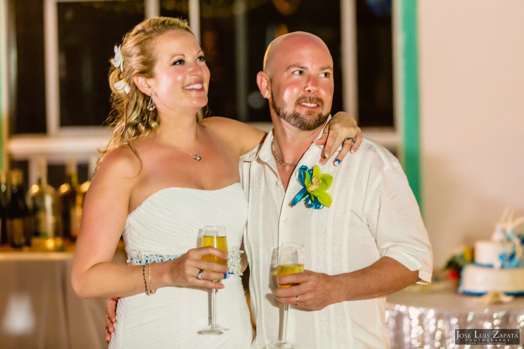 Kevin & Mandy - Blue Dolphin Vacation House Wedding - Ambergris Caye, Belize (19)