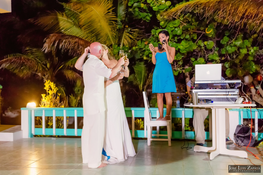 Kevin & Mandy - Blue Dolphin Vacation House Wedding - Ambergris Caye, Belize (18)