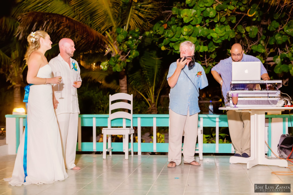 Kevin & Mandy - Blue Dolphin Vacation House Wedding - Ambergris Caye, Belize (16)