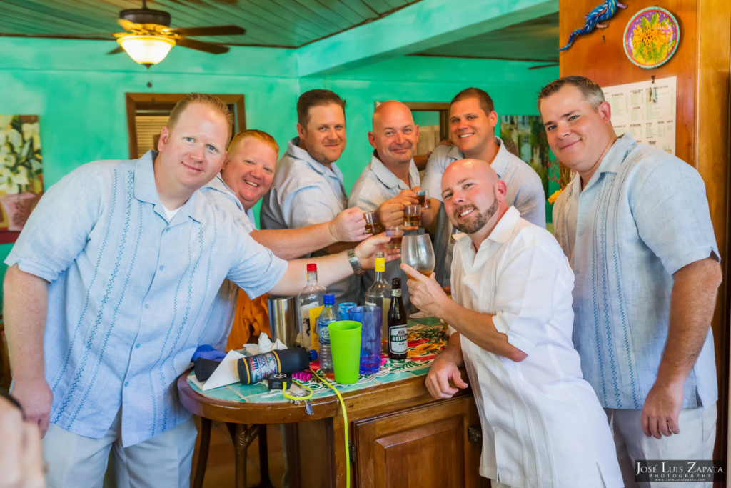 Kevin & Mandy - Blue Dolphin Vacation House Wedding - Ambergris Caye, Belize (98)