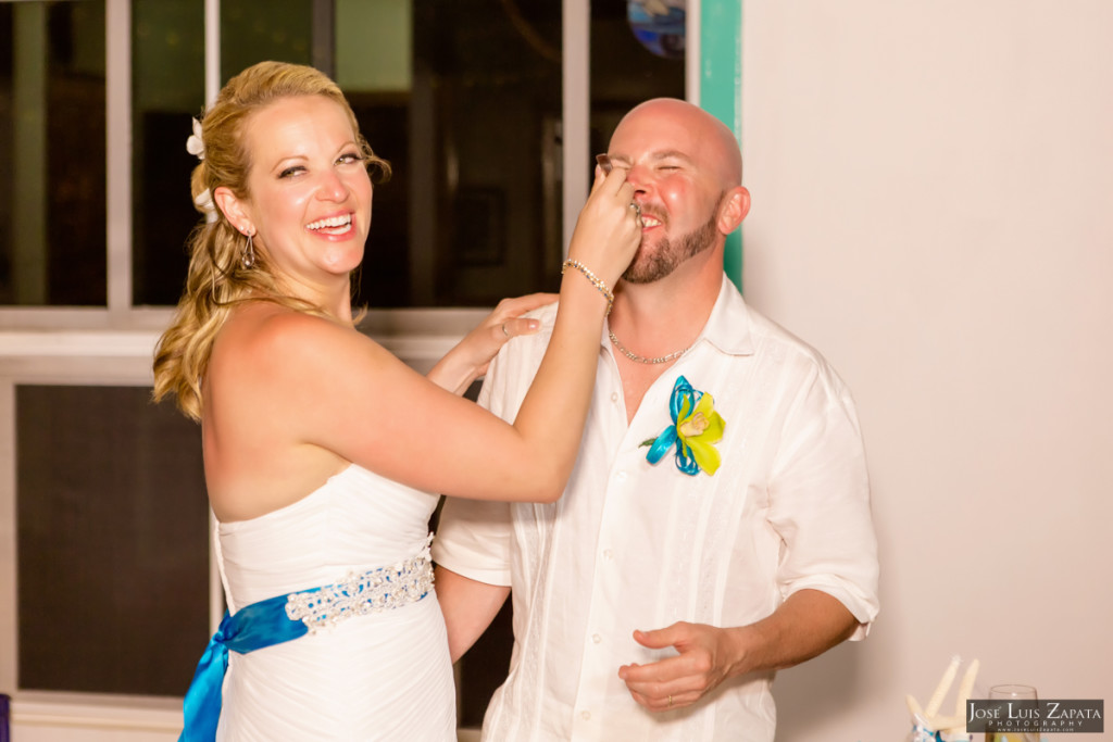 Kevin & Mandy - Blue Dolphin Vacation House Wedding - Ambergris Caye, Belize (13)