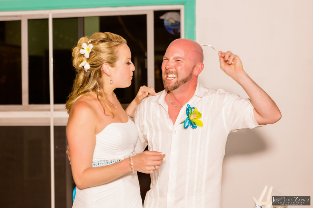 Kevin & Mandy - Blue Dolphin Vacation House Wedding - Ambergris Caye, Belize (12)