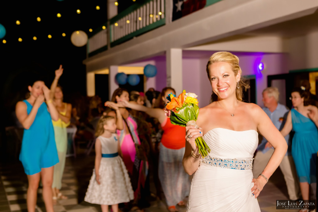 Kevin & Mandy - Blue Dolphin Vacation House Wedding - Ambergris Caye, Belize (11)
