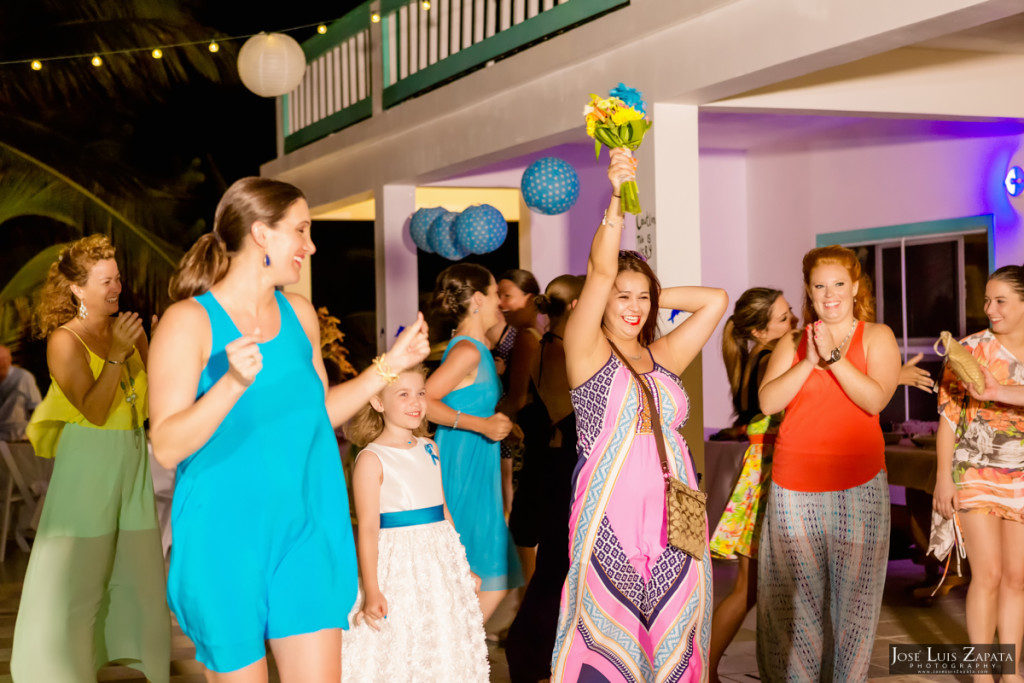 Kevin & Mandy - Blue Dolphin Vacation House Wedding - Ambergris Caye, Belize (9)