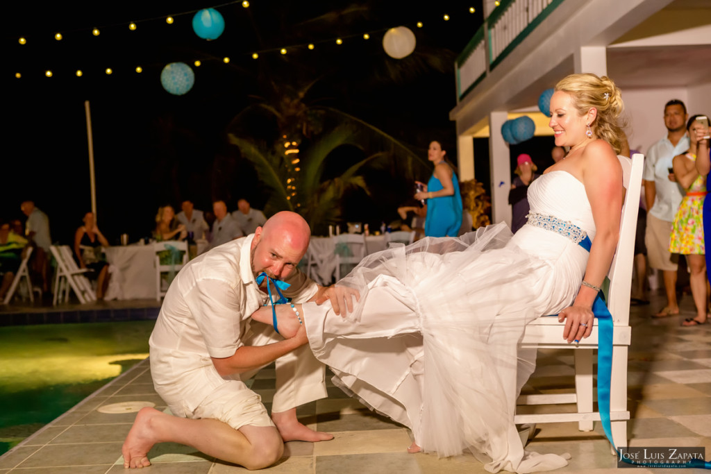 Kevin & Mandy - Blue Dolphin Vacation House Wedding - Ambergris Caye, Belize (7)
