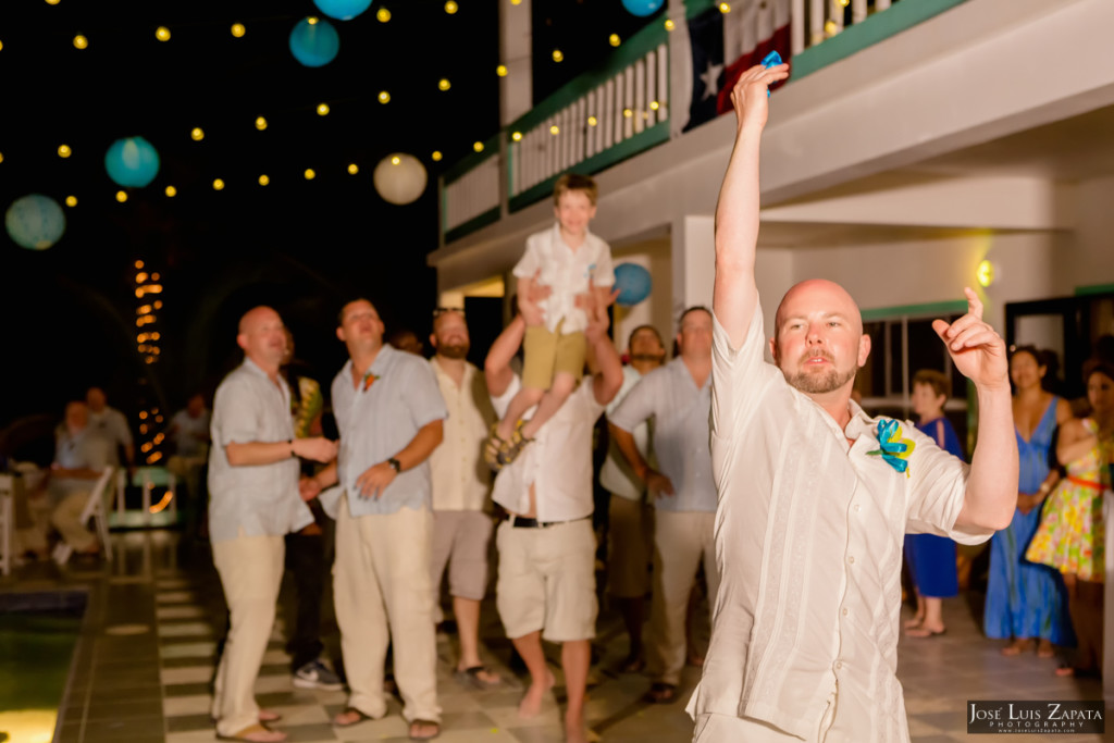 Kevin & Mandy - Blue Dolphin Vacation House Wedding - Ambergris Caye, Belize (6)