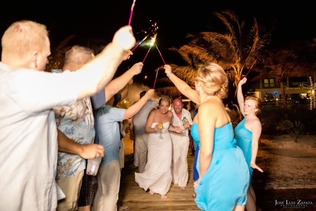 Kevin & Mandy - Blue Dolphin Vacation House Wedding - Ambergris Caye, Belize (1)