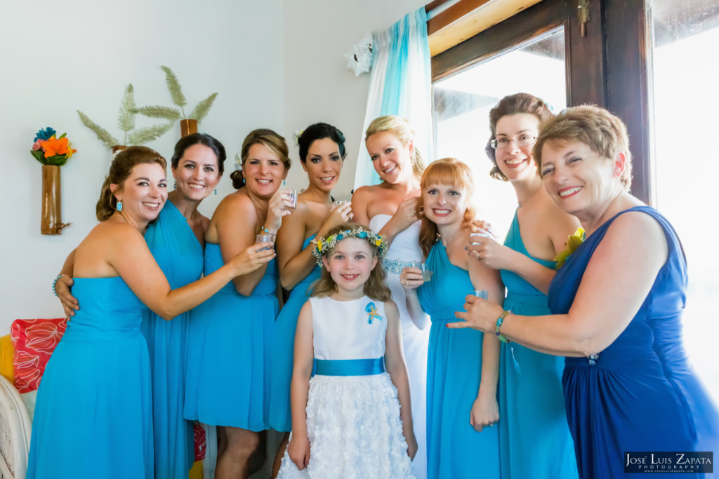 Kevin & Mandy - Blue Dolphin Vacation House Wedding - Ambergris Caye, Belize (89)