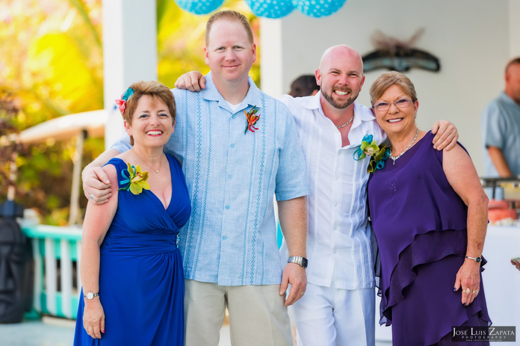 Kevin & Mandy - Blue Dolphin Vacation House Wedding - Ambergris Caye, Belize (87)