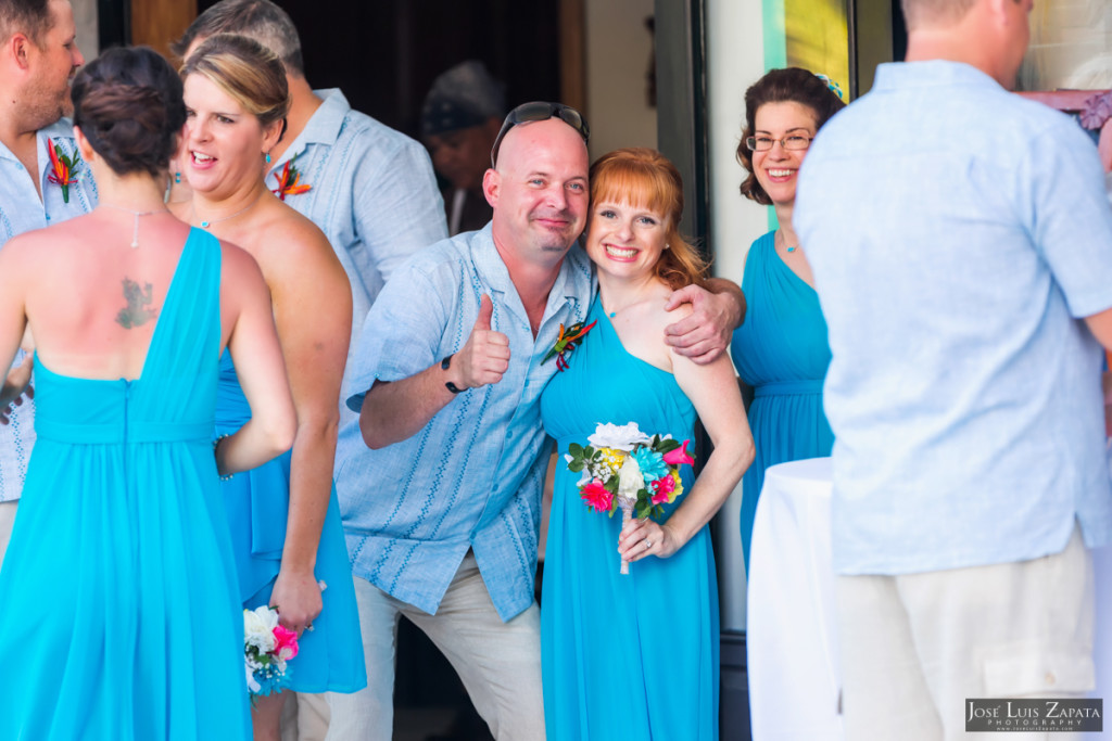 Kevin & Mandy - Blue Dolphin Vacation House Wedding - Ambergris Caye, Belize (86)