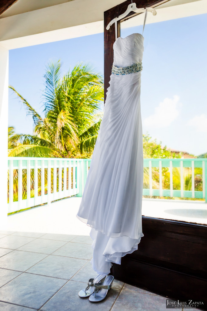 Kevin & Mandy - Blue Dolphin Vacation House Wedding - Ambergris Caye, Belize (104)