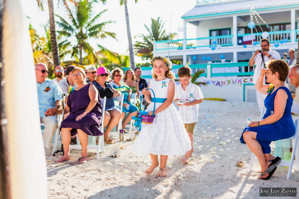 Kevin & Mandy - Blue Dolphin Vacation House Wedding - Ambergris Caye, Belize (84)