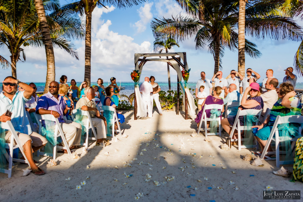Kevin & Mandy - Blue Dolphin Vacation House Wedding - Ambergris Caye, Belize (83)