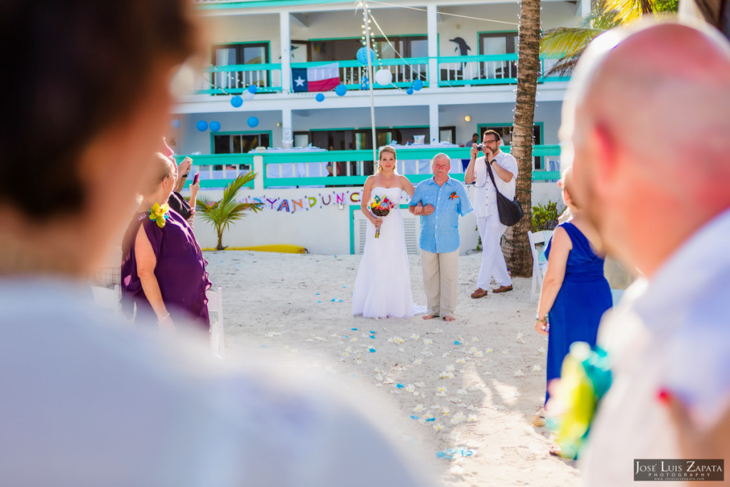 Kevin & Mandy - Blue Dolphin Vacation House Wedding - Ambergris Caye, Belize (82)
