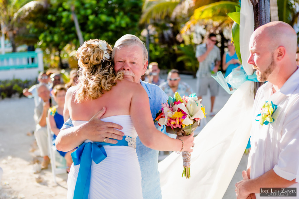 Kevin & Mandy - Blue Dolphin Vacation House Wedding - Ambergris Caye, Belize (81)
