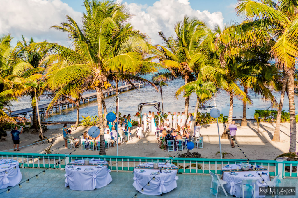 Kevin & Mandy - Blue Dolphin Vacation House Wedding - Ambergris Caye, Belize (79)