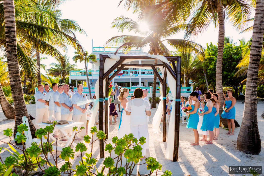 Kevin & Mandy - Blue Dolphin Vacation House Wedding - Ambergris Caye, Belize (75)