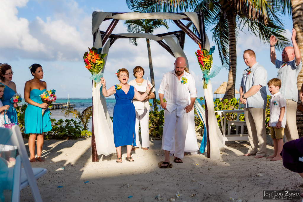 Kevin & Mandy - Blue Dolphin Vacation House Wedding - Ambergris Caye, Belize (70)