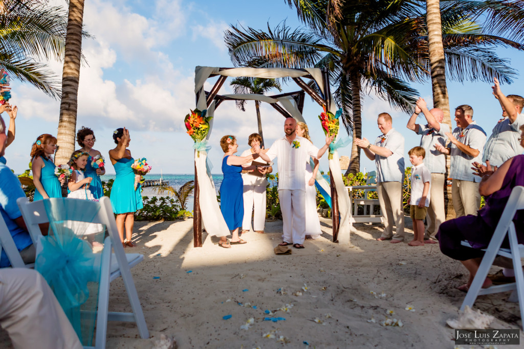 Kevin & Mandy - Blue Dolphin Vacation House Wedding - Ambergris Caye, Belize (69)