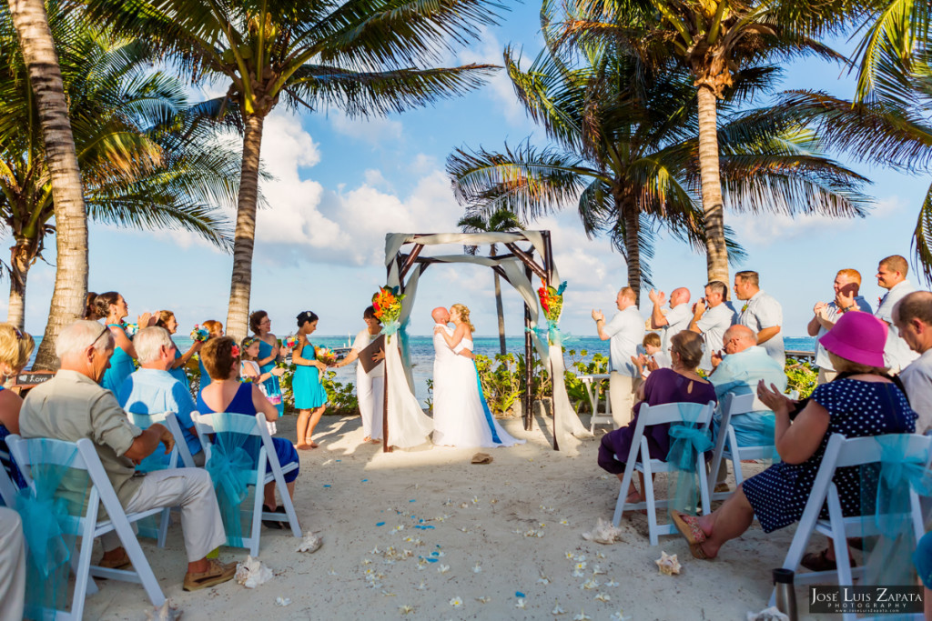 Kevin & Mandy - Blue Dolphin Vacation House Wedding - Ambergris Caye, Belize (68)