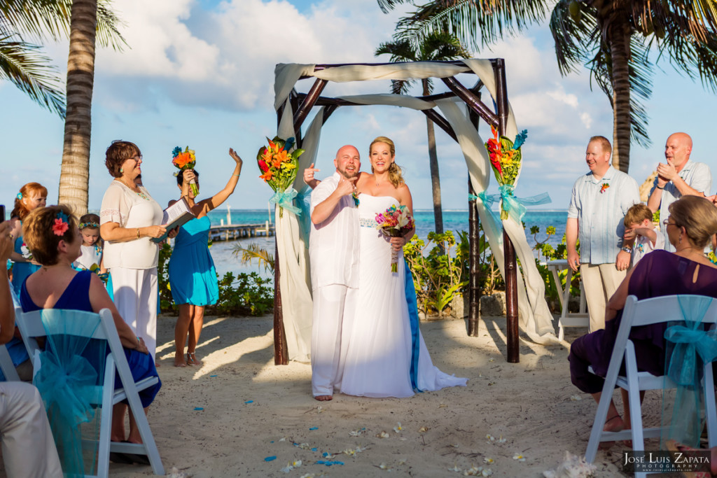 Kevin & Mandy - Blue Dolphin Vacation House Wedding - Ambergris Caye, Belize (67)