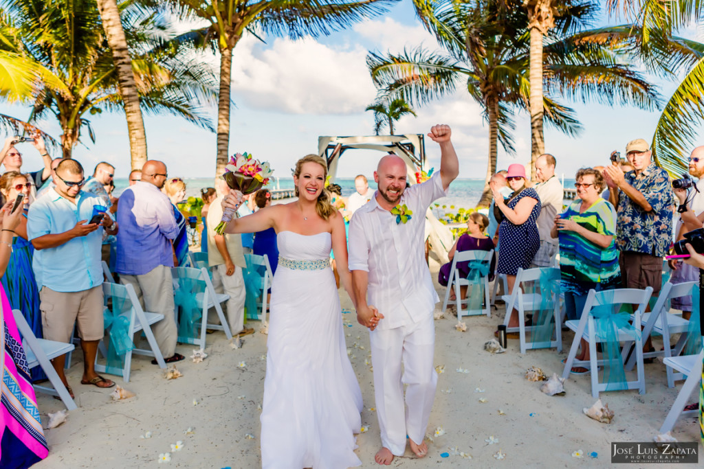 Kevin & Mandy - Blue Dolphin Vacation House Wedding - Ambergris Caye, Belize (66)