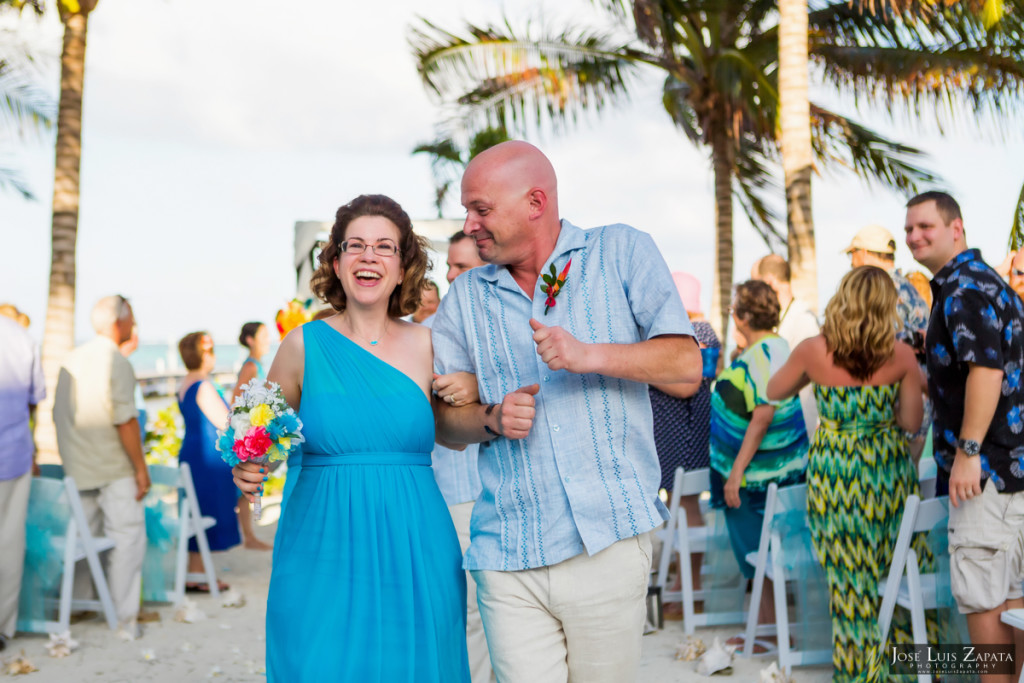 Kevin & Mandy - Blue Dolphin Vacation House Wedding - Ambergris Caye, Belize (63)