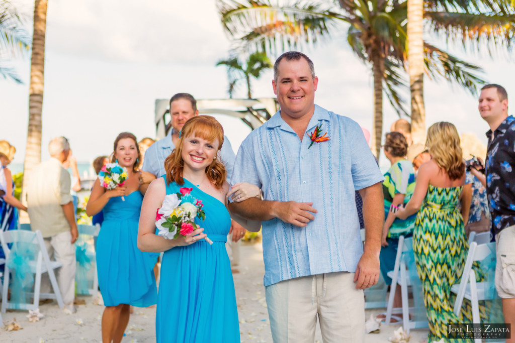 Kevin & Mandy - Blue Dolphin Vacation House Wedding - Ambergris Caye, Belize (62)