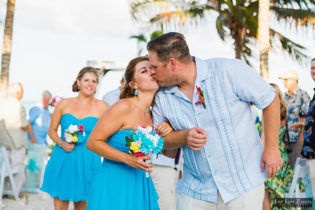 Kevin & Mandy - Blue Dolphin Vacation House Wedding - Ambergris Caye, Belize (61)