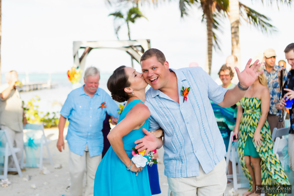 Kevin & Mandy - Blue Dolphin Vacation House Wedding - Ambergris Caye, Belize (59)