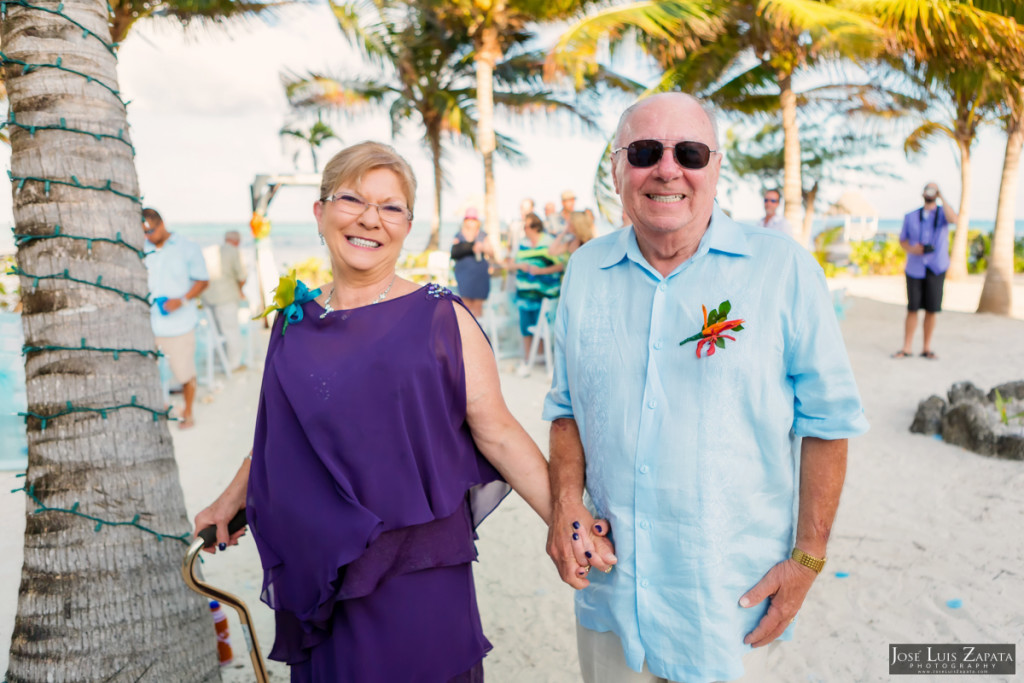 Kevin & Mandy - Blue Dolphin Vacation House Wedding - Ambergris Caye, Belize (57)